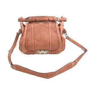 Rebecca Minkoff Endless Love Box Woven Leather Bag